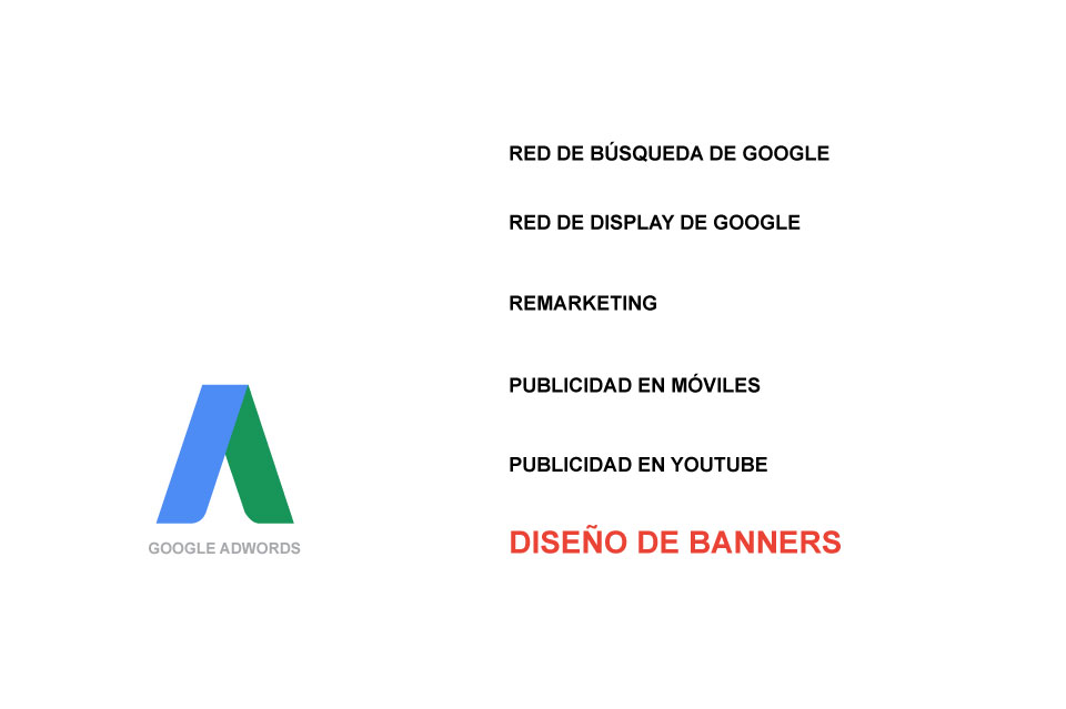 Diseño de banners para Publicidad con Google AdWords