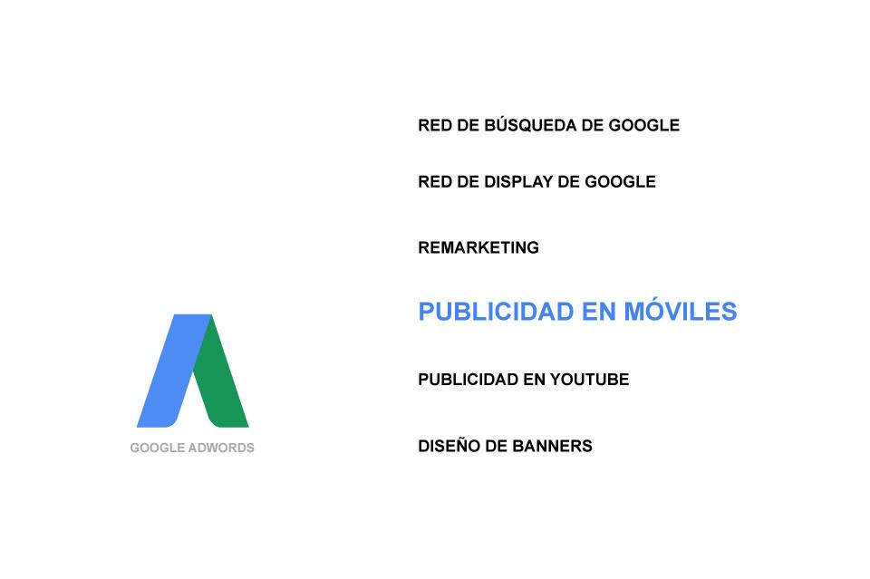 Publicidad con Google AdWords. Móviles