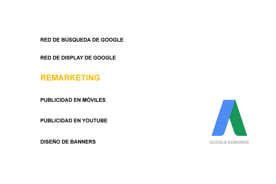 Publicidd con Adwords. Remarketing con Google AdWords
