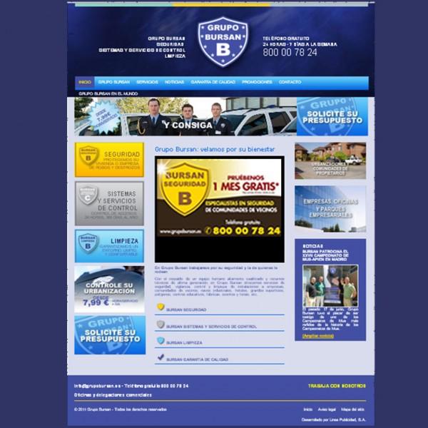 Diseño Web de Grupo Bursan