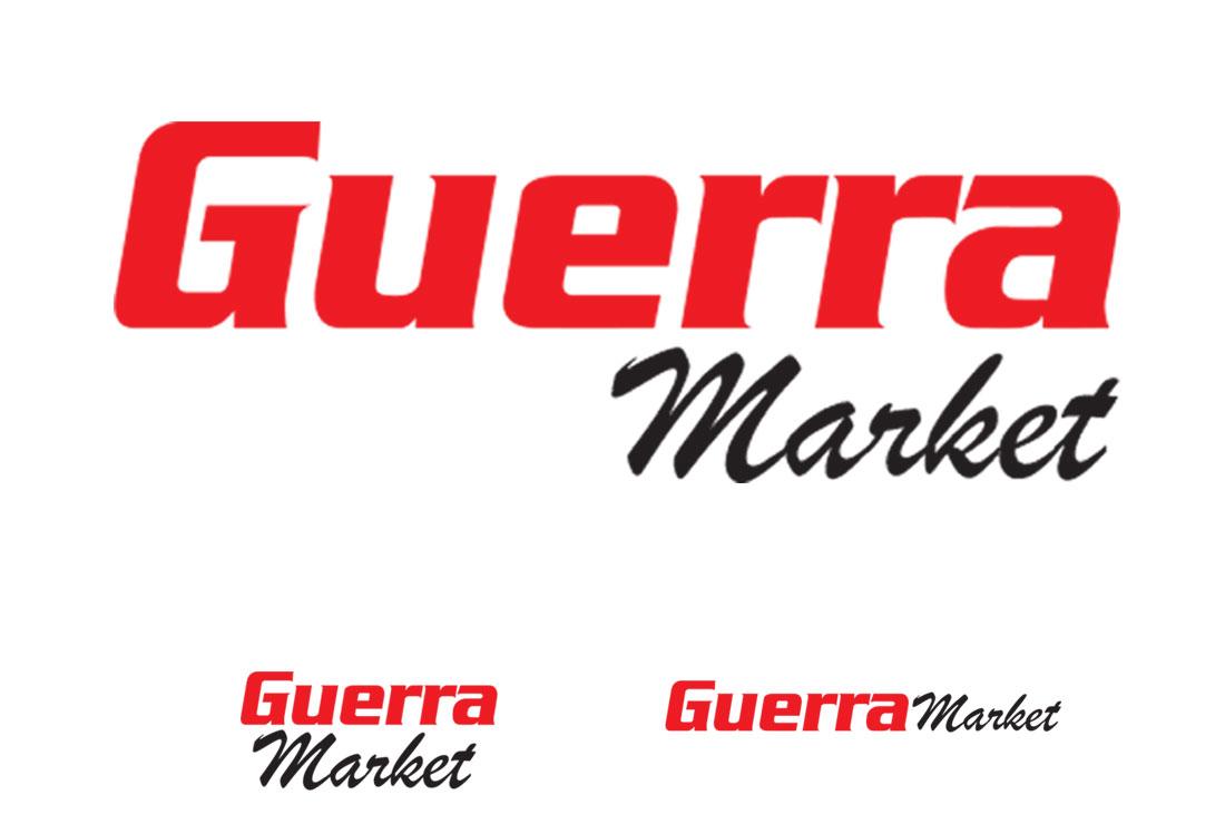 Logos Guerra Market: Creatividad y Diseño Gráfico