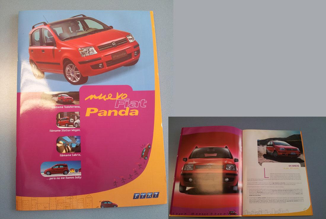 Carpeta de prensa del Fiat Panda