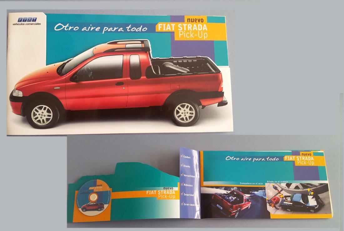 Carpeta prensa Fiat Strada