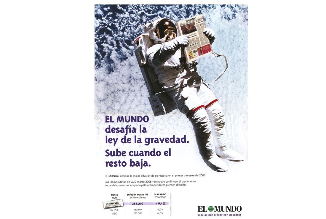 Campañas de publicidad EL MUNDO -Anuncio