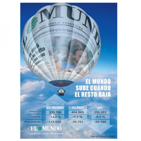"""Campañas de Publicidad EL MUNDO - Anuncio """"El Globo - Nadal"""""""