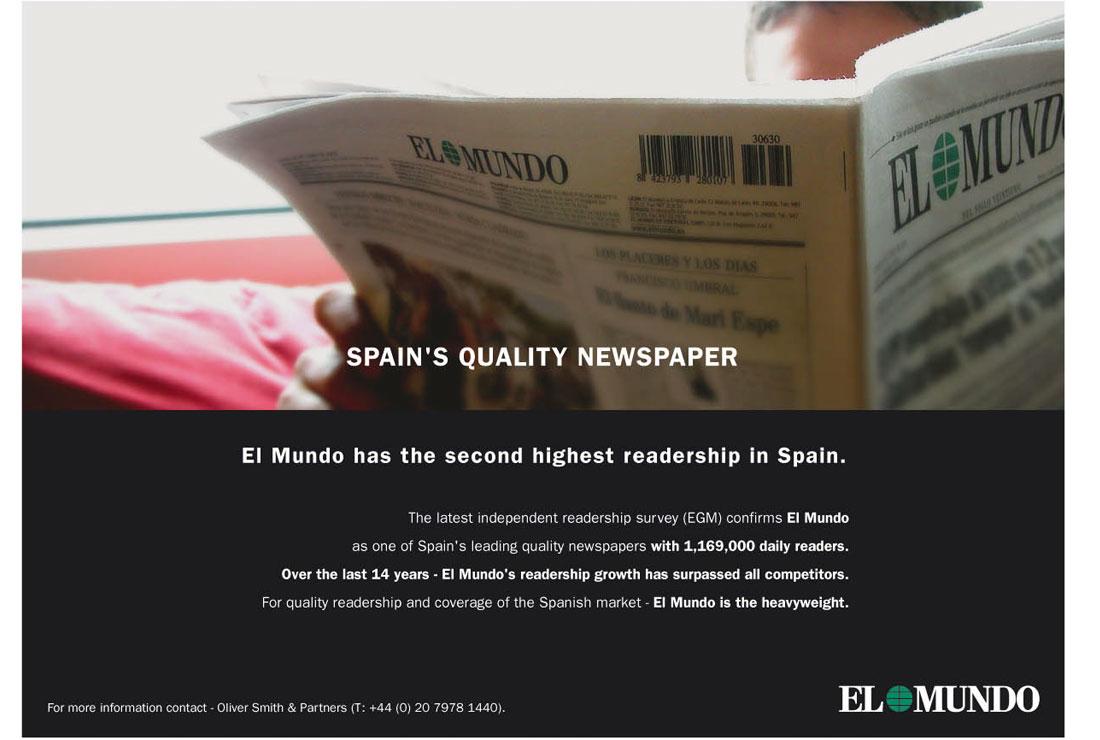 Campañas de publicidad EL MUNDO - Anuncio