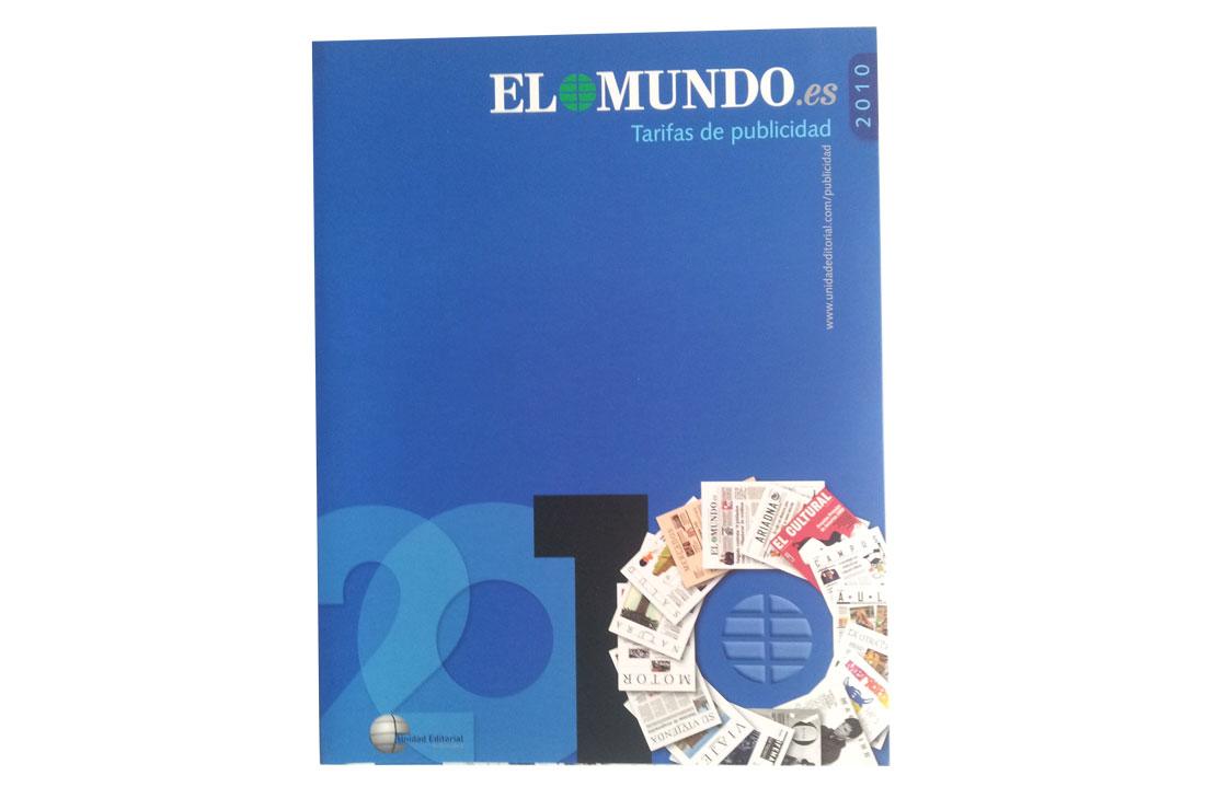 Tarifas departamento publicidad EL MUNDO 2010