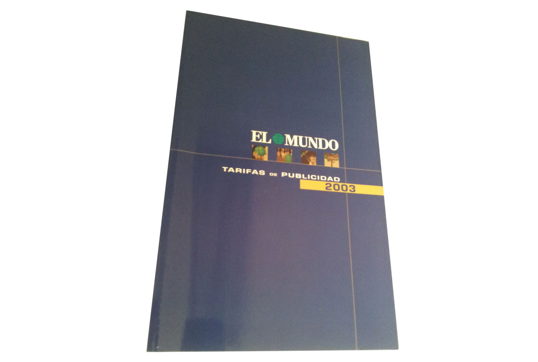 Tarifas de publicidad de EL MUNDO 2003