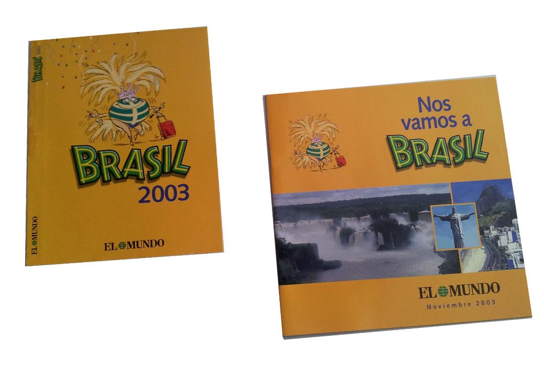 Material Viaje Nos Vamos a Brasil de EL MUNDO