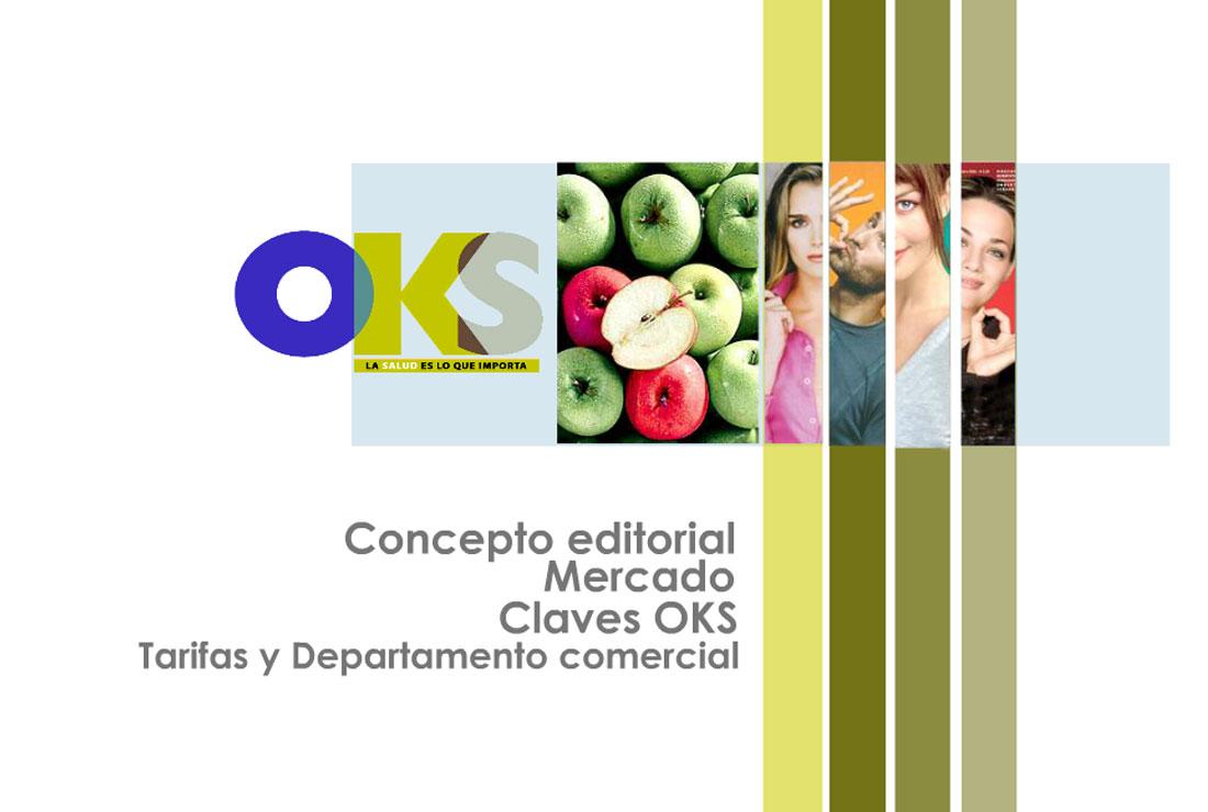 Portada Presentación OKS Salud. Campaña de publicidad lanzamiento