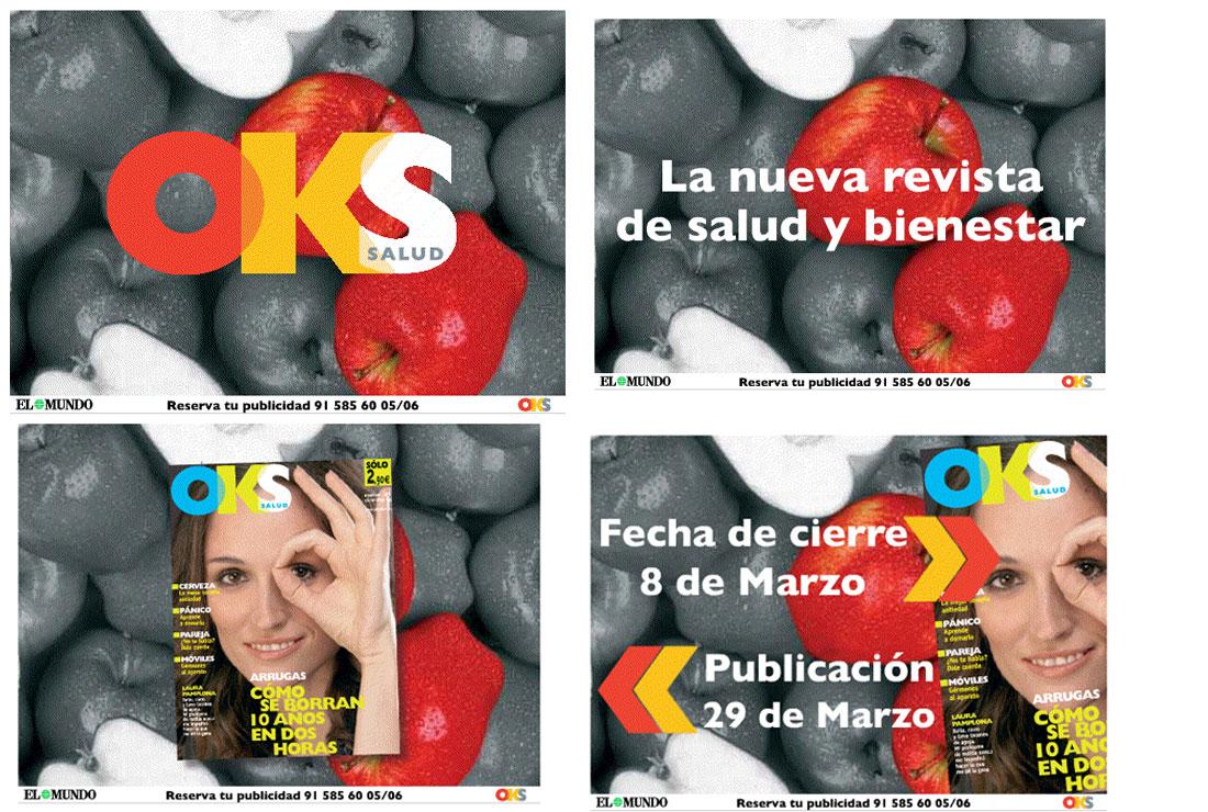 email Campaña de publicidad lanzamiento OKS Salud