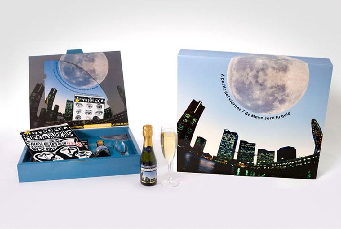 Campaña de publicidad La Luna de Metropoli