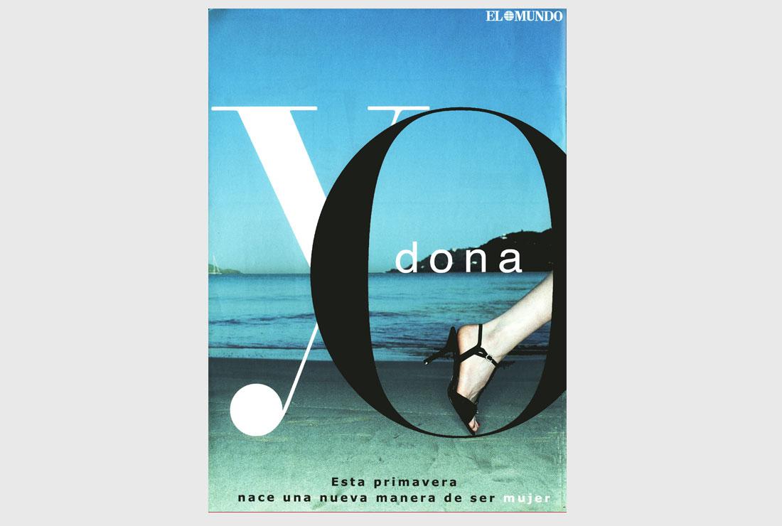 Campañas de publicidad Yo Dona Original previo lanzamiento