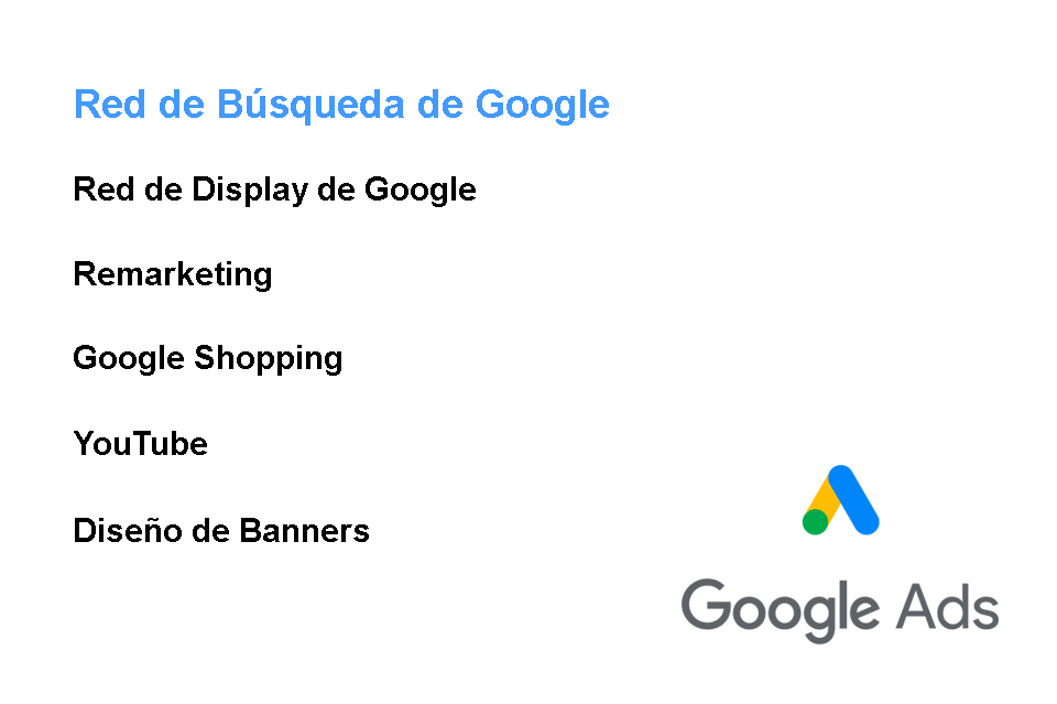 Publicidad con Google Ads. En la Red de Búsquedas- Search